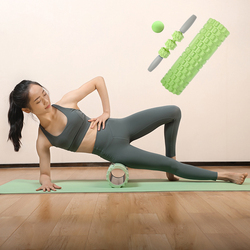 Massage Roller Muscle Relax Therapy Soft Yoga Column Physio Exercise Fitness Pilates Foam Blocks Gym