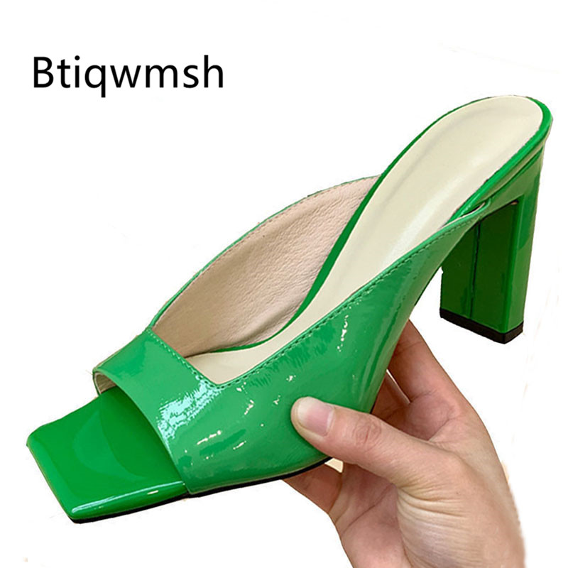 2020 Retro Gladiator Sandals Women Open Toe Green Gold High Heel Shoes Woman Sexy Party Shoes