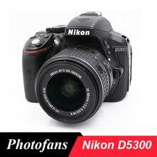 Lustrzanka cyfrowa Nikon D5300 z obiektywem 18-55mm-wifi-wideo