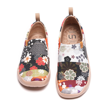 UIN Women's Loafers Casual  Design Painted Canvas Comfort Ladies Soft Sneaker Lightweight shoes Hana 2021 Japenese collection