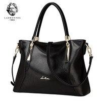LAORENTOU Women Bags Luxury Ladies Cowhide Leather Handbags Casual Women's Bags Shoulder Bag Crossbody Bags Women Handbag