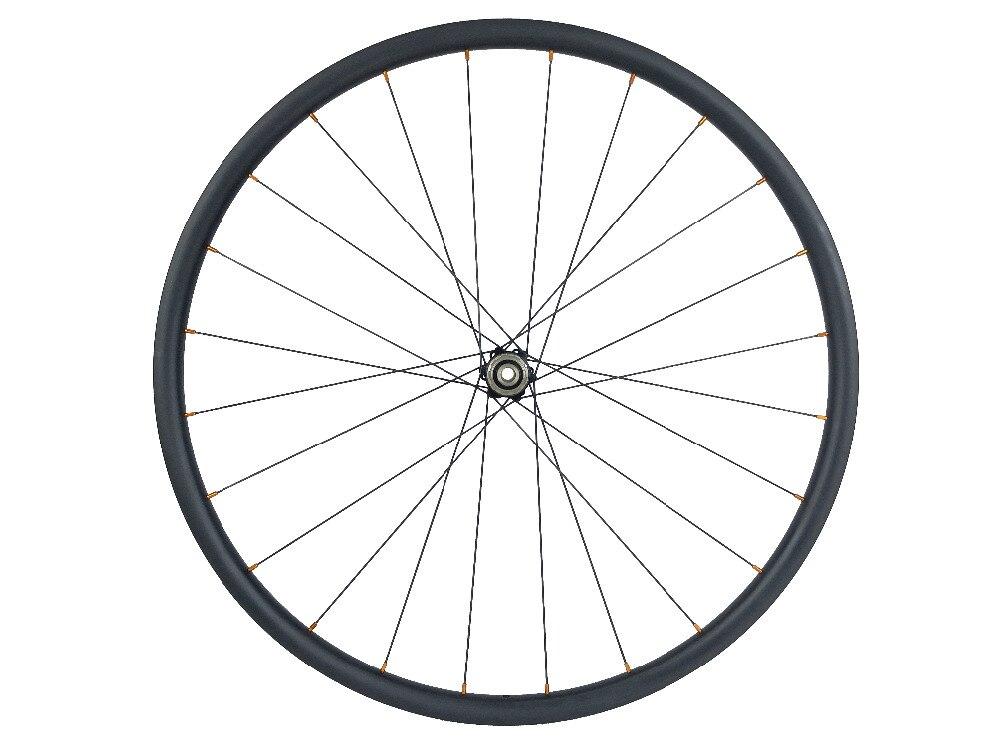 Image 5 - Ultra Light 1050g 650B MTB XC 24mm tubeless straight pull carbon wheels D411SB D412SB 24H 28H 6 bolt 10S 11S XD XX1Bicycle Wheel   -