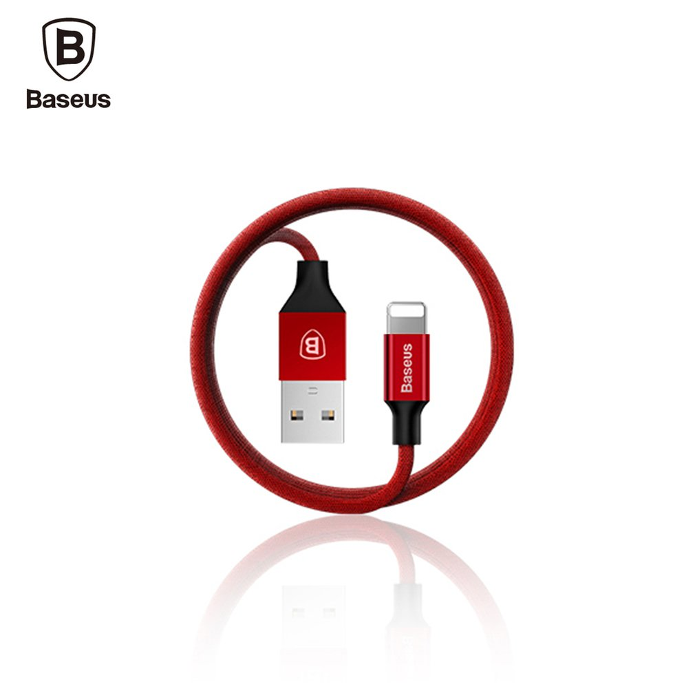 Baseus Data Cabe 8 Pin Fast Charging Cable Braided USB Cables 1.8M Mobile Phone Charging Cable For IPhone IOS 10