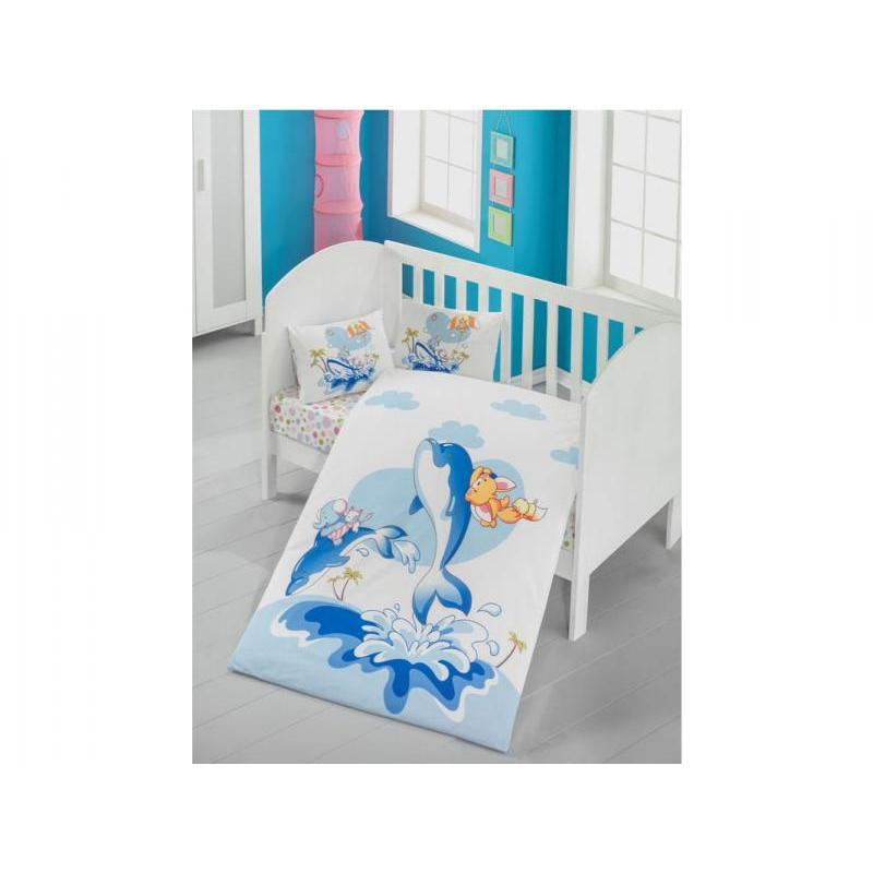 Bedding set children's cottonbox, Victoria baby, Ocean cover set victoria