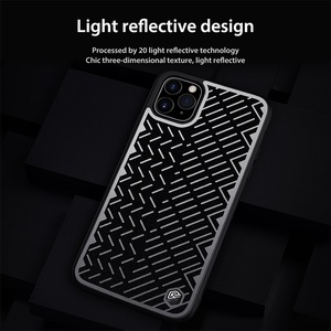 Image 2 - For iPhone 11 Pro Max Case 5.8 6.1 6.5 NILLKIN Herringbone Case Light Reflective Polyester Waterproof Back Cover for iPhone11