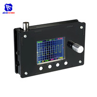 diymore Fully Assemble DSO328 2.4 TFT LCD Digital Oscilloscope 1Msps 0 200KHz STM32 Chip with BNC Alligator Test Clip Probe