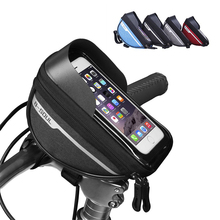 Bike-Bag Bicycle-Accessories Cycling-Frame Mobile-Phone-Case Front-Top Reflective Rainproof