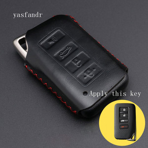 Image 5 - 4 Button Key Fob Cover Case For Lexus ES350 GS350 GS450h IS250 RC350 NX200T NX300h LX570 Car Remote Holder Protector