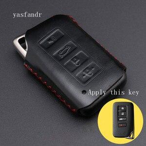 Image 5 - 4 כפתור מפתח Fob כיסוי מקרה עבור לקסוס ES350 GS350 GS450h IS250 RC350 NX200T NX300h LX570 רכב מרחוק מחזיק מגן