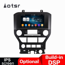 Android 9.0 Car GPS Navigation Multimedia Auto Radio Player for Ford Mustang 2015-2018 stereo Car DVD Player head unit recorder(China)