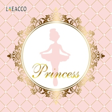 Laeacco Dancing Ballet Girl Pattern Photography Backdrops Personalized Baby Shower Photographic Backgrounds For Photo Studio