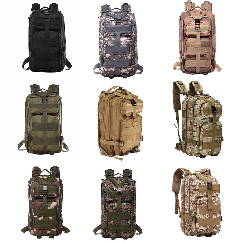 50L Capacity Men Army Military Tactical Large Backpack Waterproof Outdoor Sport Hiking Camping Hunting 3D Rucksack Bags For Men