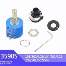 Potentiometer Resistor 3590S 202 Multiturn Adjustable WAVGAT 102 502 103 50K 20K 10K