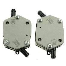 Nouveau 2 pics pompe à carburant Assy pour Yamaha 6E5-24410-04-00 6e5-24410-00 115-300HP hors-bord 2 temps