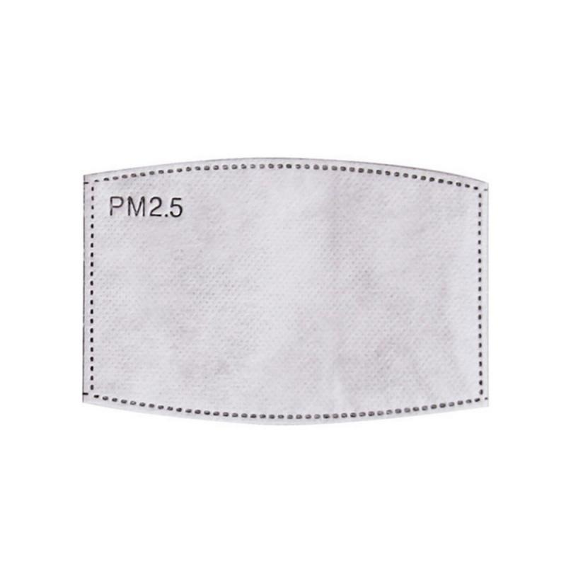 PM2.5 Filter Paper Anti Haze Bacteria Proof Mouth Mask Replacement Anti Dust Anti Pollution Face Mouth Mask Filter Ready Stock