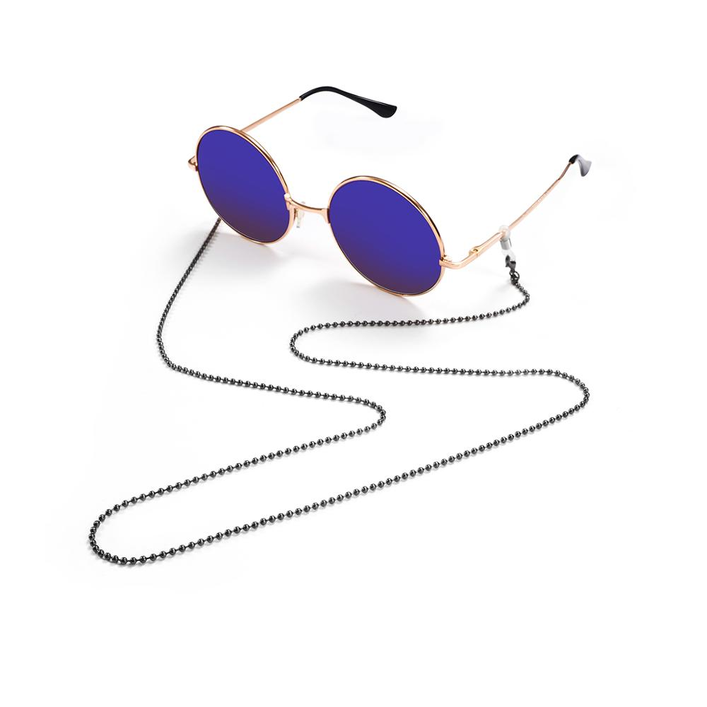 Image 2 - Retail Nice Metal eyeglasses chain eyewear glasses sunglasses cord holder 3 different colors-in Eyewear Accessories from Apparel Accessories