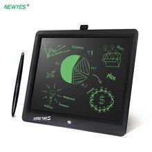 15 بوصة المحمولة تابلت للكتابة هدايا للأطفال مكتب LCD الكتابة بخط اليد منصات رسم لوحي اللعب مفتاح القفل