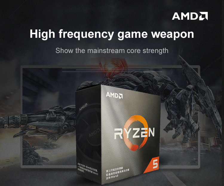 Bundle AMD RYZEN R5 3500X CPU Processor 6 Core 6 Thread With ASUS TUF B450M-PRO GAMING Motherboard image