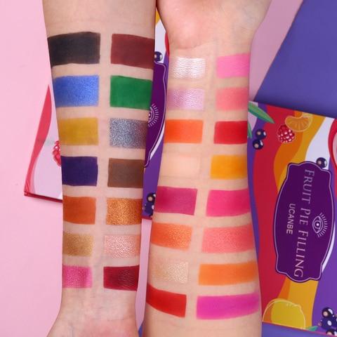 sombra de olho paleta kit maquiagem vibrante