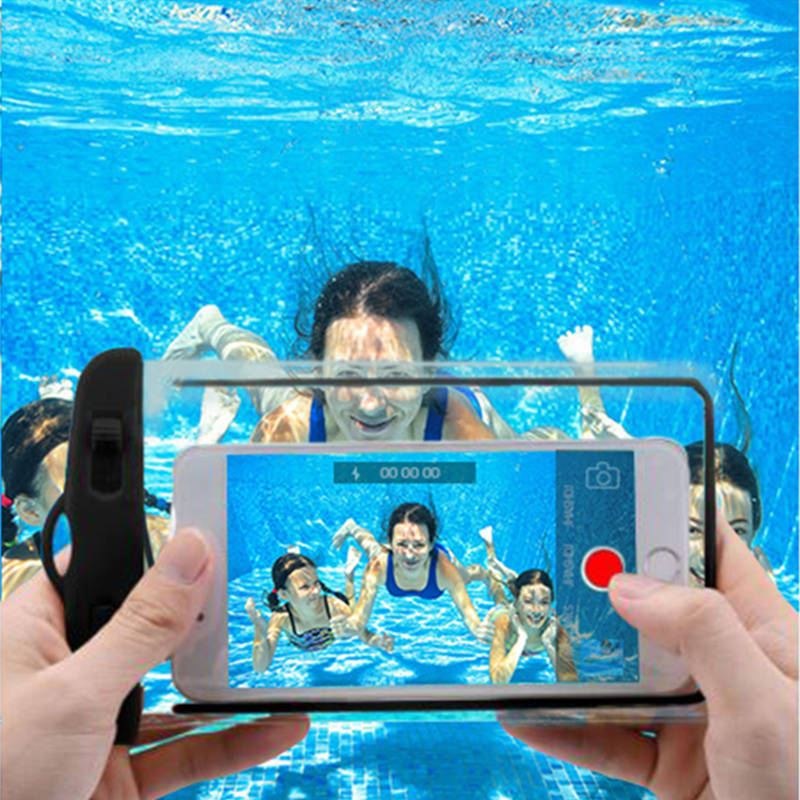 Luminous Waterproof Mobile <font><b>Phone</b></font> <font><b>Case</b></font> Pouch Bag For iPhone XS Max X 8 7 Samsung Huawei Xiaomi <font><b>Cases</b></font> For <font><b>Water</b></font> <font><b>Proof</b></font> <font><b>Phone</b></font> Coque image