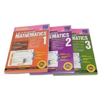 3 Books /Set SAP Learning Mathematics Book Grade 1-3 Children Learn Math Books Singapore Primary School Mathematics Textbook недорого