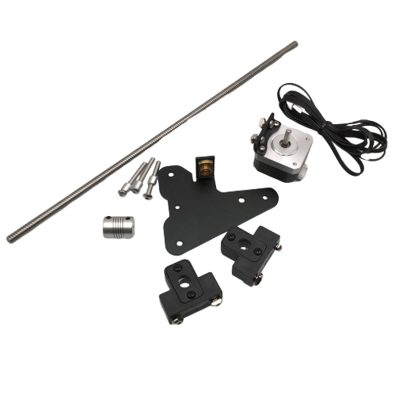 Funssor 1set Creality Ender 3 CR-10 dual Z axis upgrade kit for Ender 3 Pro 3D printer parts