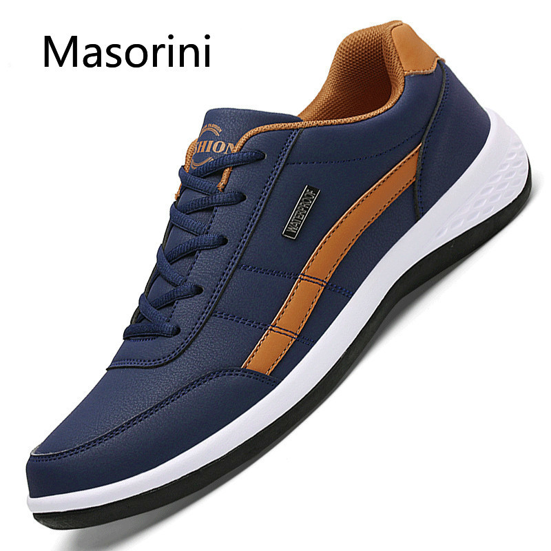 Men Shoes Footwear Italian Luxury Brand England Leisure Male Trend Breathable