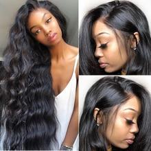 Ön koparıp tam sırma insan saçı peruk kadınlar için vücut dalga sahte derisi HD şeffaf 30 inç 360 dantel ön peruk brezilyalı remy