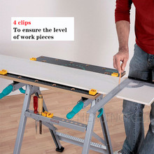 Multifunction Woodworking Workbench Console Woodworking Marker Table jobs Workshop Be Applicable Fixed Jobs woodworking Clamp