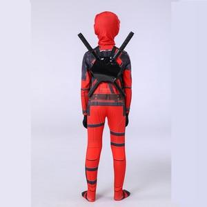 Image 2 - Deadpool Deadpool סרבל ליל כל הקדושים תלבושות ילדי Deadpool Cosplay תלבושות למבוגרים סט