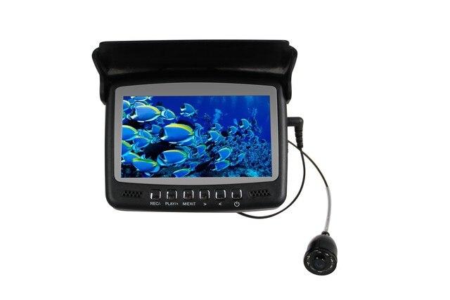 Caméra avec DVR et écran LCD numérique 4.3 pouces   HD 1000 TVL caméra de pêche sous-marine, caméra de pêche sous-marine, câble de 15-30M