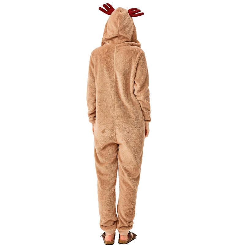 X 着ぐるみクリスマス大人親子 chilid ボディ冬クリスマストナカイコスプレ衣装フランネルホーム!