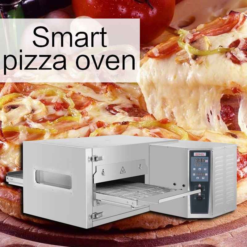 7500W Electric Wind Cycle Intelligent Timing Pizza Oven Commercial Multifunction Oven Tracked High Capacity Pizza Oven