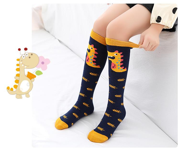 Мультяшные милые детские хлопковые носки с животными Детские