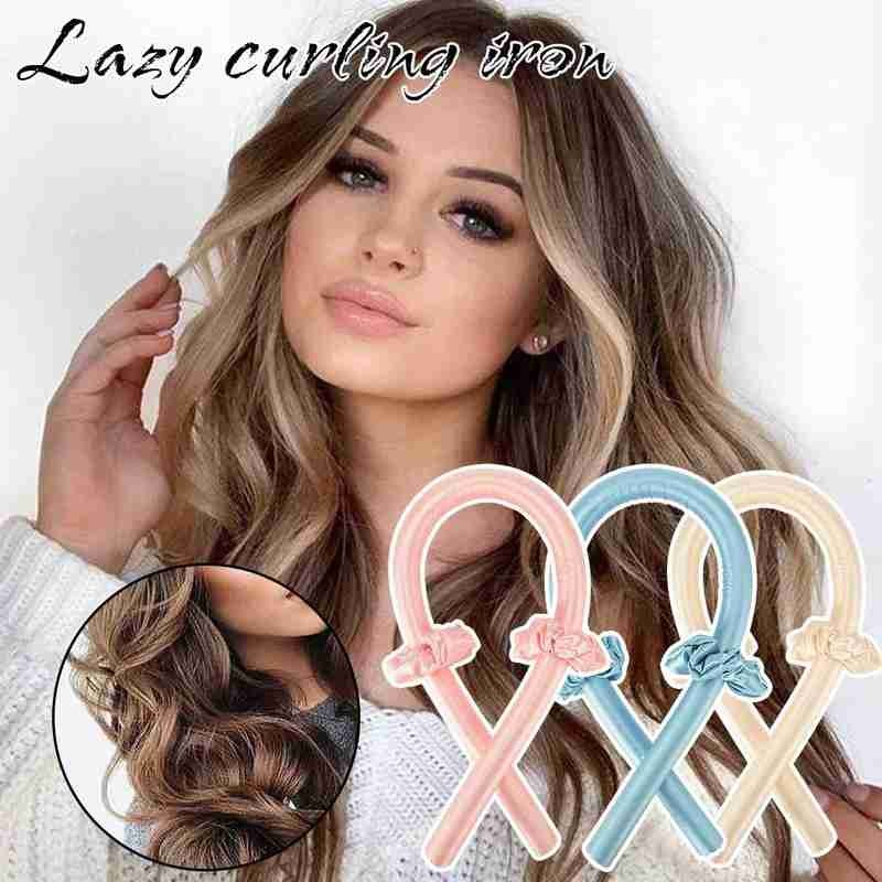 BounzeUp Heatless Hair Curling Wrap Kit 2