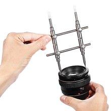 Гаечный ключ для объектива камеры из нержавеющей стали инструмент для ремонта объективов набор инструментов для разборки объектива от 25 мм до 130 мм