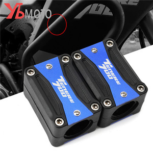 Motorcycle Engine Guard Bumper Protection Decorative Block Crash Bar Accessories For YAMAHA TENERE 700 Tenere700 2019 2020(China)