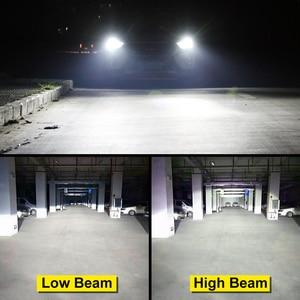 Image 2 - Ampoules pour phares de voiture, LED, 2 pièces ZES puces LED H4 Canbus H1 H3 H7 H8 H11 HB3 9005 HB4 9006 H27 880 881, lampe frontale automatique 12V 5000K