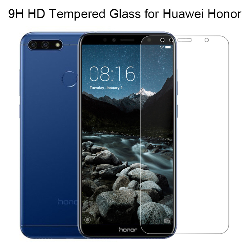 Screen Protector Film On Honor 7A 7C Pro Phone Tempered Glass For Huawei Honor 7C AUM L41 Protective Glass For Honor 7A DUA L22