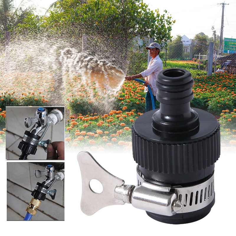 Irrigation Watering Shower Hose Adapter Universal Tap Connector Pipe Fitting