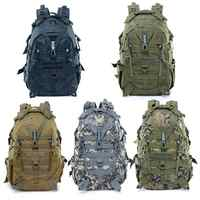 Newest Waterproof Large Camping Backpack Military Travel Bags for Men Tactical Molle Climbing Rucksack Outdoor Sports Riding Bag