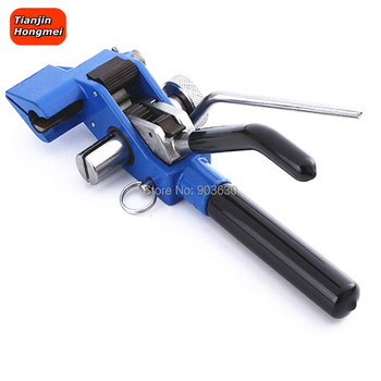 Banding Tool for Strapping Tensioner Stainless Steel Tensioner Tool Cable Ties Tension Cutting Fastening Hand Guided Gear Bander