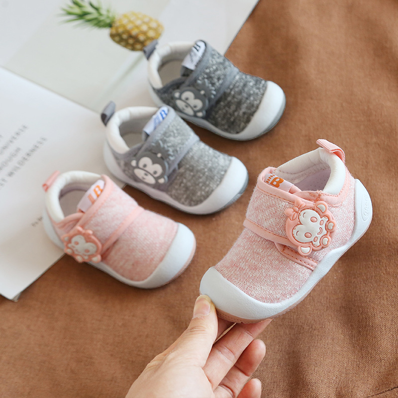 2019 Autumn Infant Toddler Shoes Baby Girls Boys Casual Shoes Soft Bottom Non-Slip Breathable High Quality Kids Children Shoes