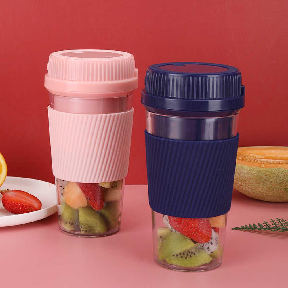 Портативный USB электрическая соковыжималка машина смузи блендер миксер кухонный комбайн фруктовый сок Мини Блендер чашка для воды бутылка для сока