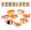Искусственные зубы, искусственная игрушка для розыгрышей, аксессуары для вечерние, инструменты