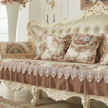 Luxury Embroidered sofa cover Couch covers for sofas loveseat cover L shape sofa cover covering the