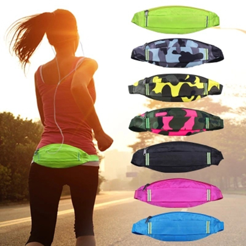 Outdoor Wallet Men's Women's Running Sports Music Mobile Phone Bag Light And Tight Anti-Theft Hidden Wallet Travel Wallet