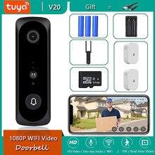Tuya App 2MP Smart Wifi Video Deurbel Camera Visuele Intercom Met Chime Nachtzicht Ip Deurbel Draadloze Home Security camera