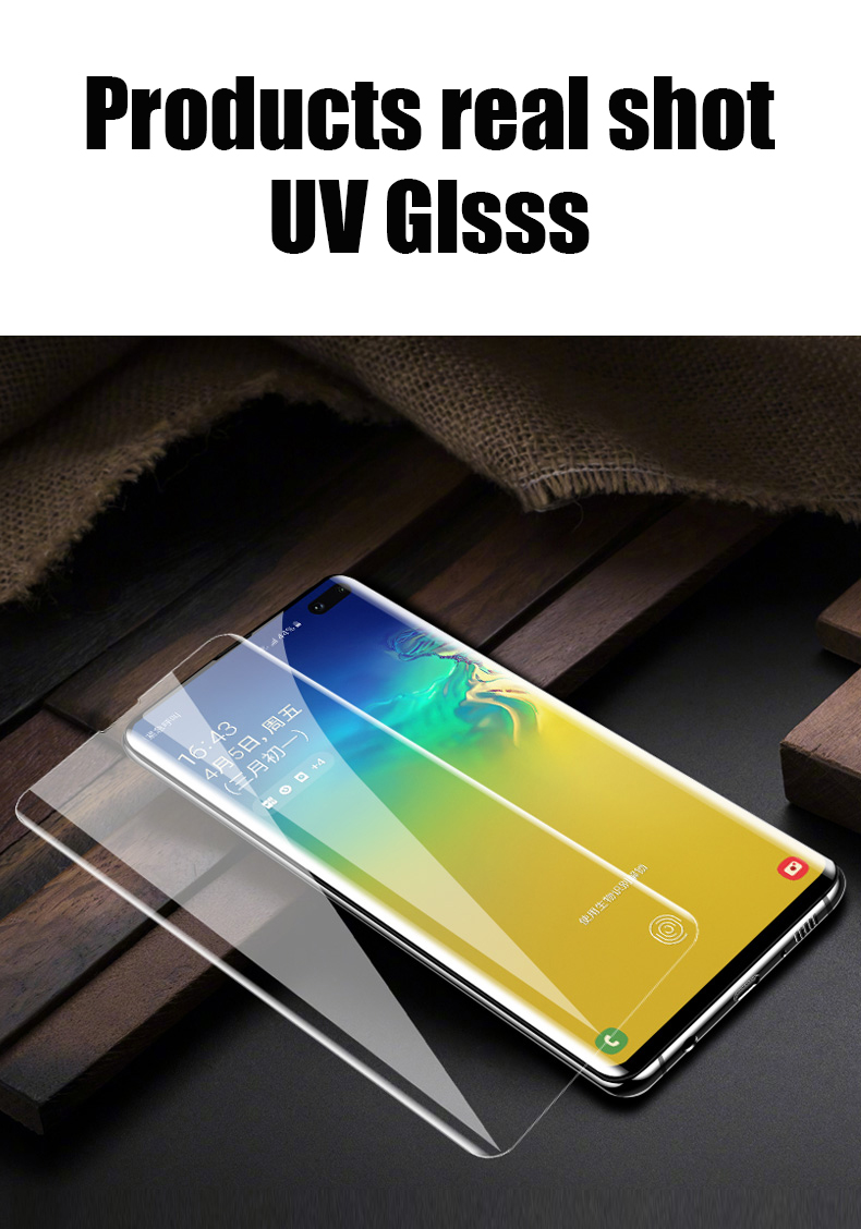 UV Tempered Glass For Samsung Galaxy S10 Plus Glass S9 S8 Screen Protector S20 Ultra S10e S 9 8 10 e Note 9 10 s10 lite Protect