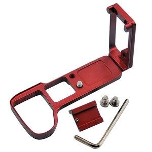 ABKT-вертикальная рукоятка для съемки с горячим башмаком для Sony A9 A7 MARK III A7III A7RIII A7R3 быстроразъемный l-образный кронштейн для камеры Holde